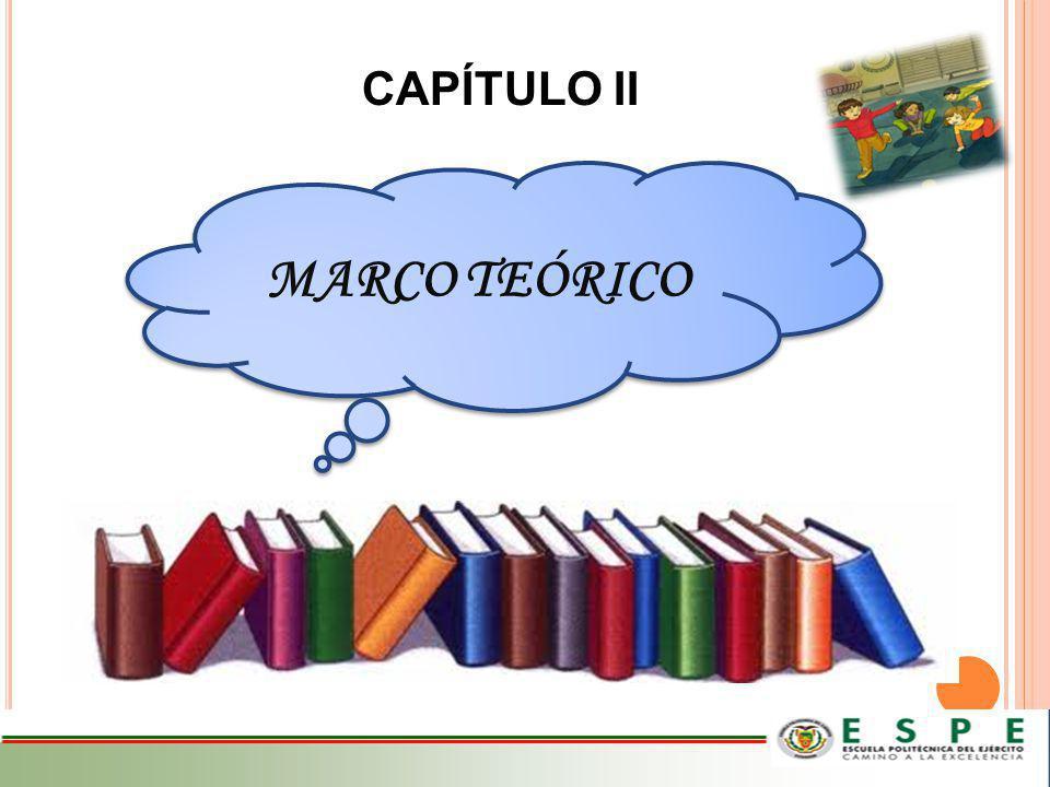 MARCO TEÓRICO CAPÍTULO II