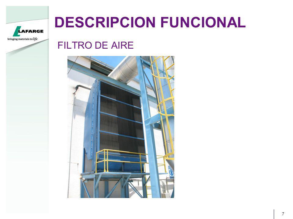 DESCRIPCION FUNCIONAL 7 FILTRO DE AIRE