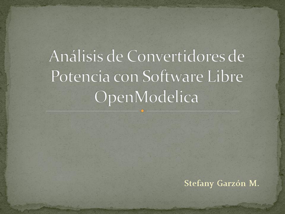 Se recomienda profundizar el estudio de los simuladores OpenModelica y Scilab, ya que, al ser estos programas gratuitos, pueden ser utilizados en la universidad reemplazando otros simuladores comerciales.