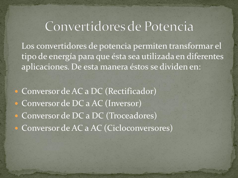 Los convertidores DC-DC son circuitos que controlan el flujo de energía entre dos sistemas de corriente continua.
