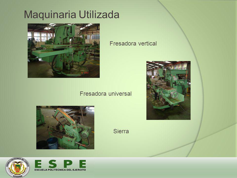 Fresadora vertical Fresadora universal Sierra Maquinaria Utilizada