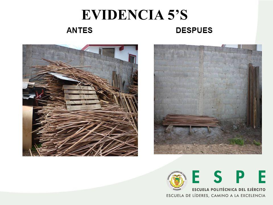 ANTESDESPUES EVIDENCIA 5S