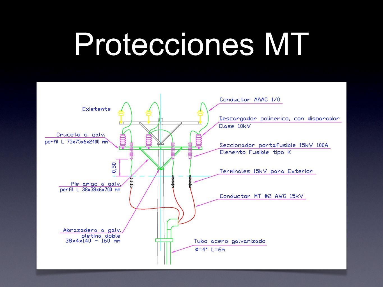 Protecciones MT