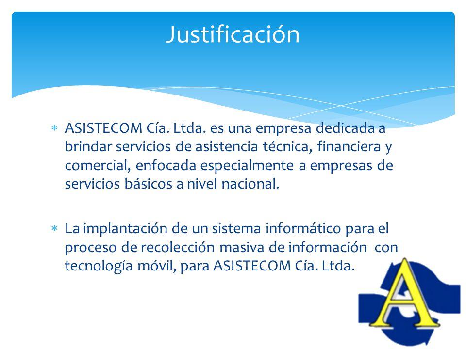ASISTECOM Cía. Ltda. es una empresa dedicada a brindar servicios de asistencia técnica, financiera y comercial, enfocada especialmente a empresas de s