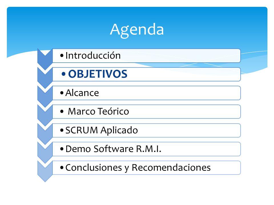 Utilizar el Método Ágil SCRUM, aplicado a la Implantación de un Sistema Informático para el Proceso de RECOLECCIÓN MASIVA DE INFORMACIÓN CON TECNOLOGÍA MÓVIL.