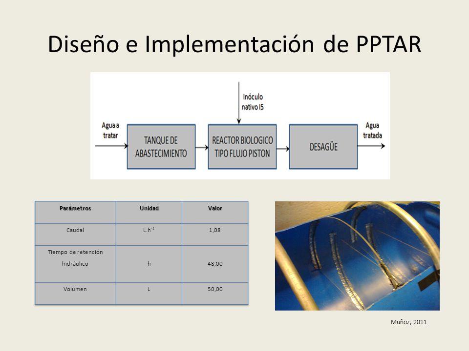 Diseño e Implementación de PPTAR Muñoz, 2011