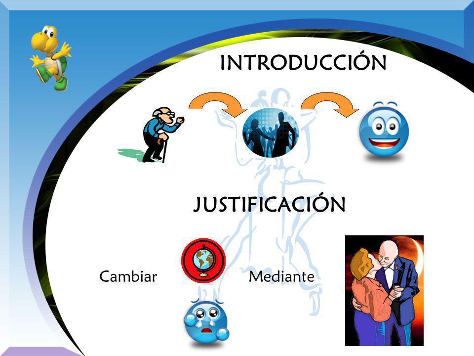 INTRODUCCIÓN JUSTIFICACIÓN CambiarMediante