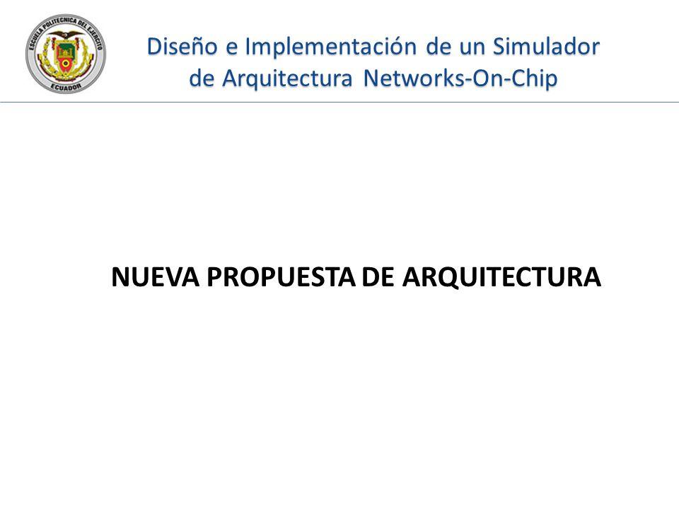 Diseño e Implementación de un Simulador de Arquitectura Networks-On-Chip NUEVA PROPUESTA DE ARQUITECTURA