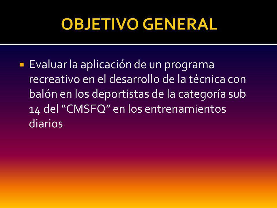 DISEÑO Y EVALUACION DE PROGRAMAS DE RECREACION, Esperanza OSORIO C.