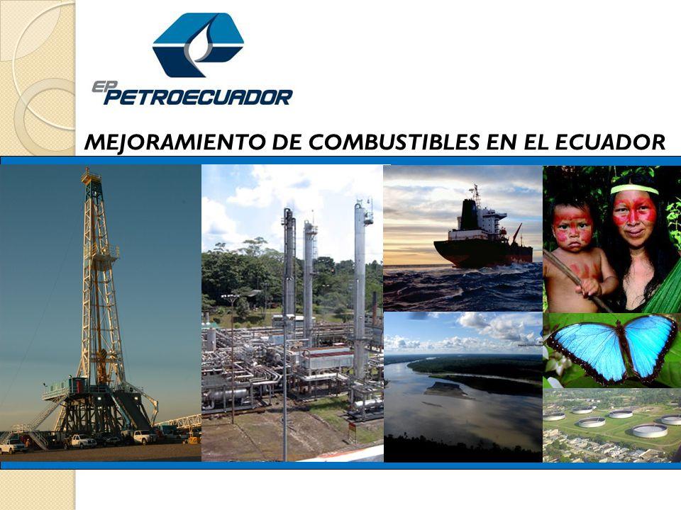 MEJORAMIENTO DE COMBUSTIBLES EN EL ECUADOR