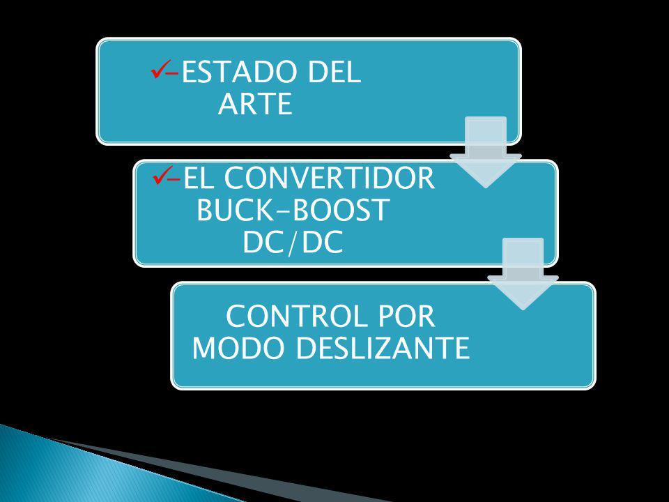 -ESTADO DEL ARTE -EL CONVERTIDOR BUCK-BOOST DC/DC CONTROL POR MODO DESLIZANTE