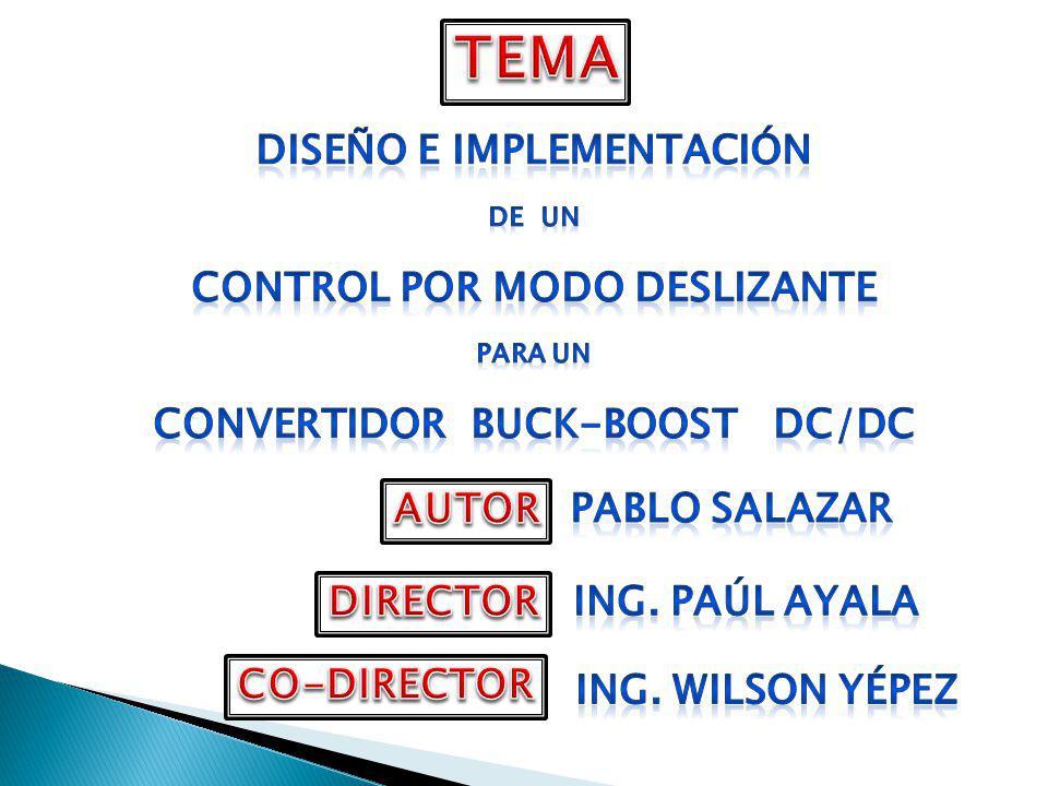 DISEÑO : CAPACITOR INDUCTOR INTERRUPTORES SELECCIÓN DE SEMICONDUCTORES >