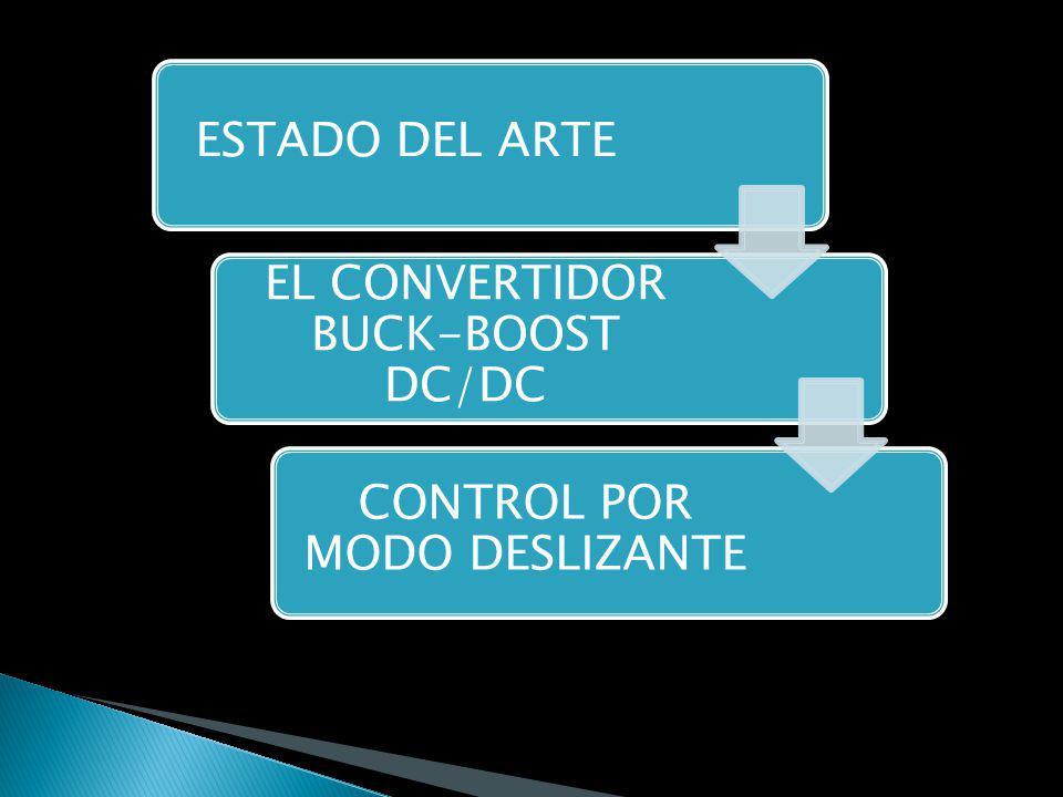 EL CONVERTIDOR BUCK-BOOST DC/DC MODELAMIENTO MATEMÁTICO MODELO
