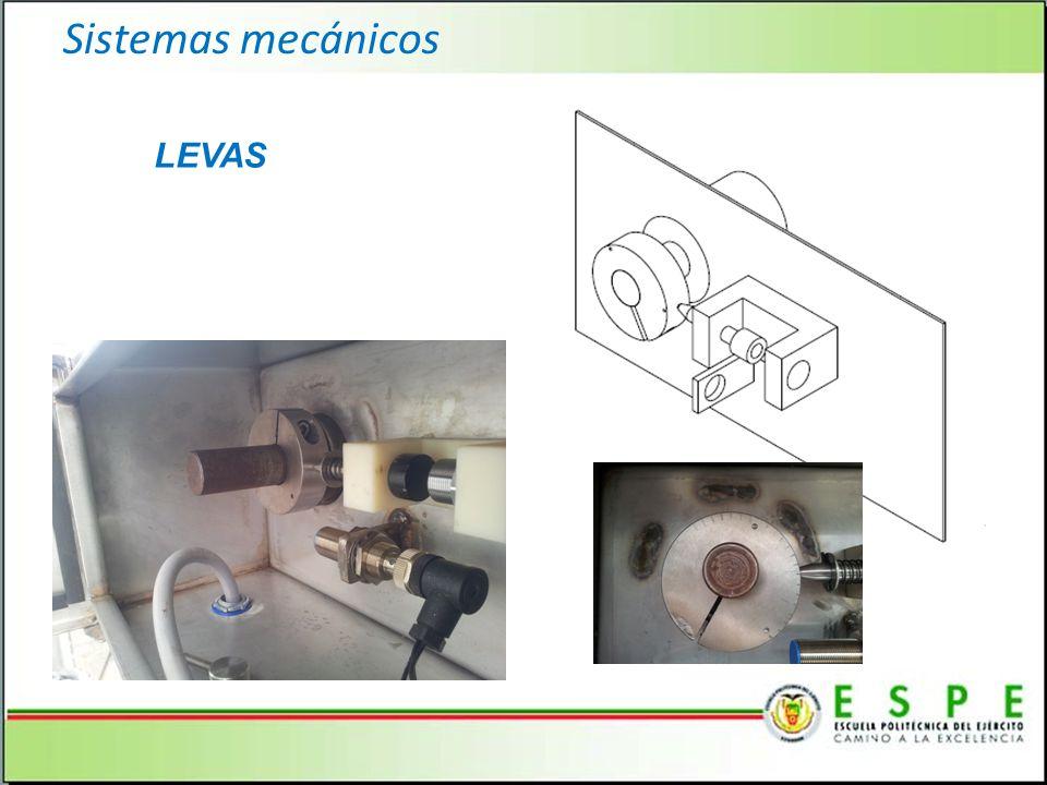 Sistemas mecánicos LEVAS