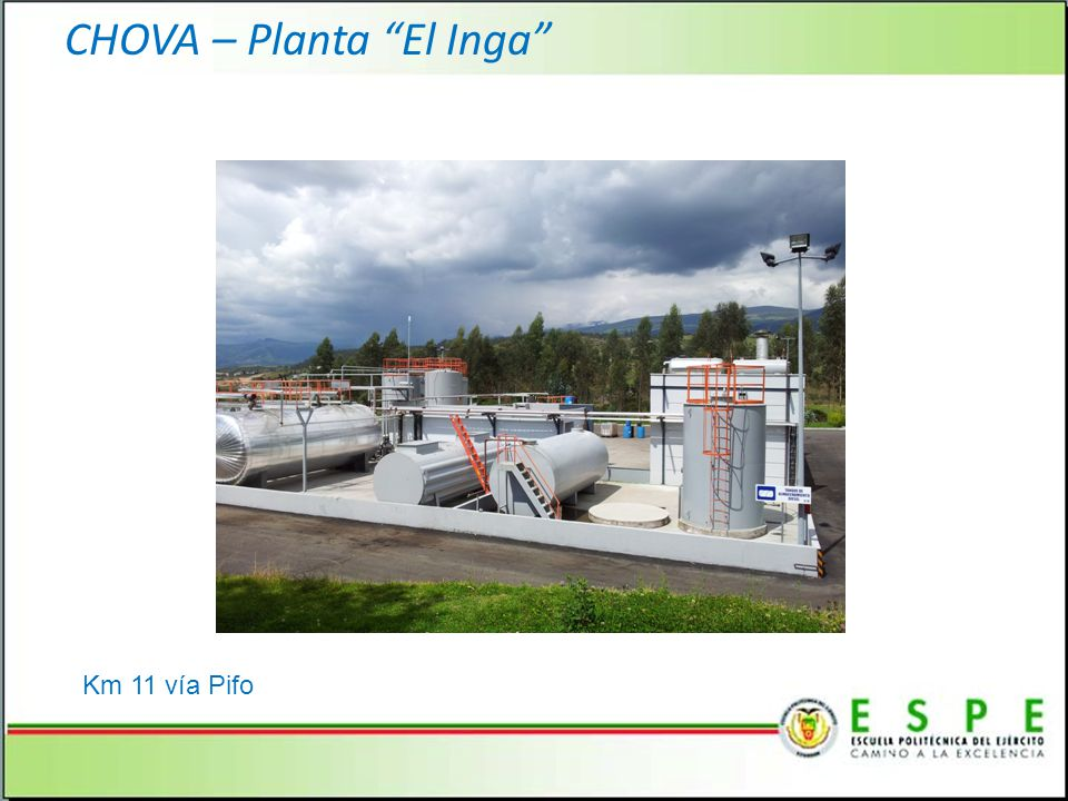 CHOVA – Planta El Inga Km 11 vía Pifo