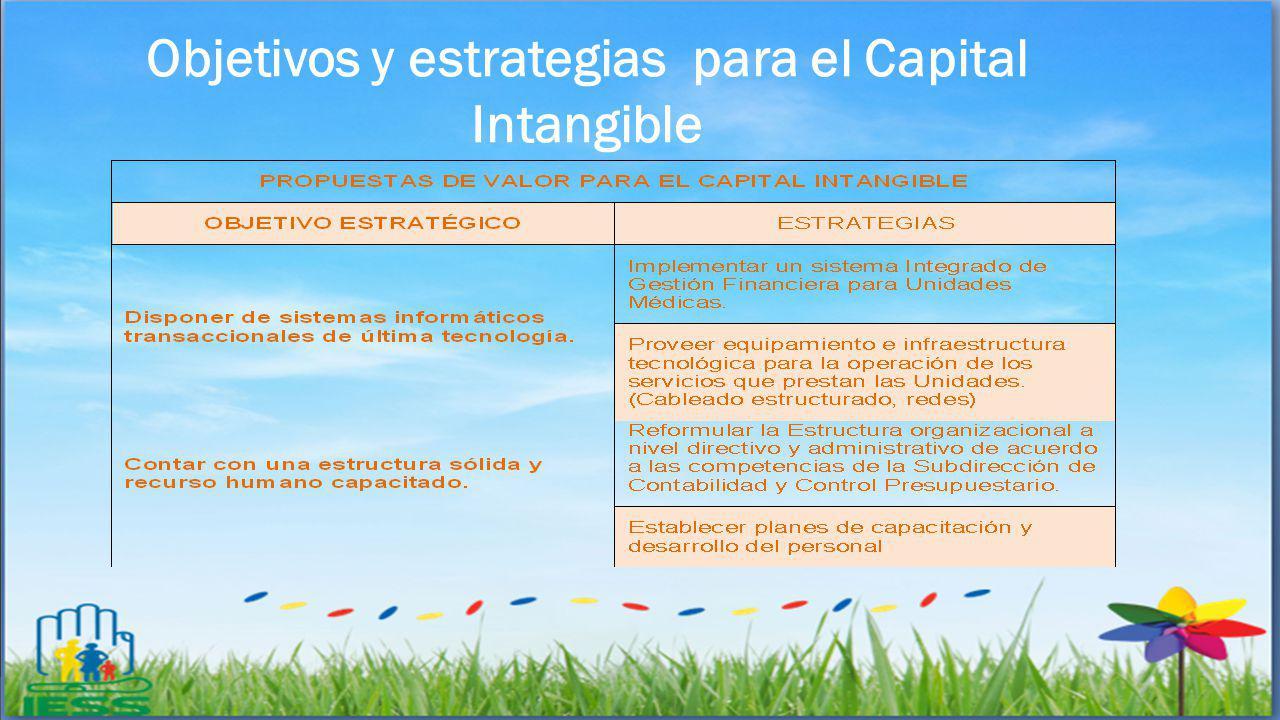Objetivos y estrategias para el Capital Intangible