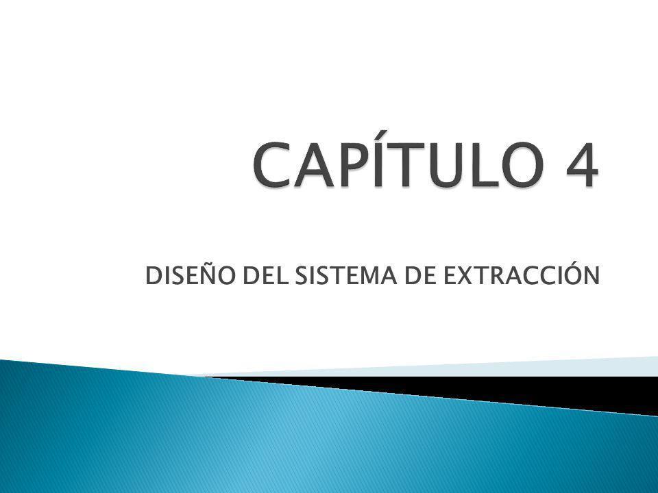 DISEÑO DEL SISTEMA DE EXTRACCIÓN