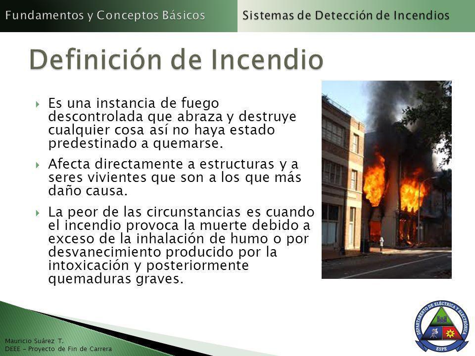 Es una instancia de fuego descontrolada que abraza y destruye cualquier cosa así no haya estado predestinado a quemarse.