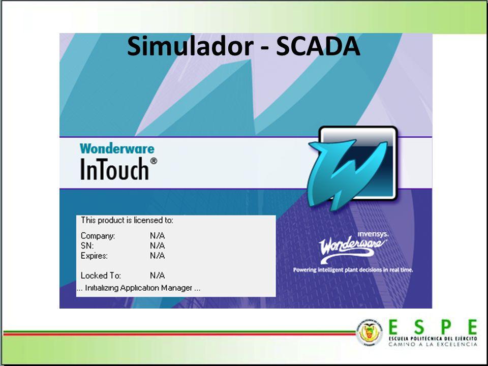 Simulador - SCADA