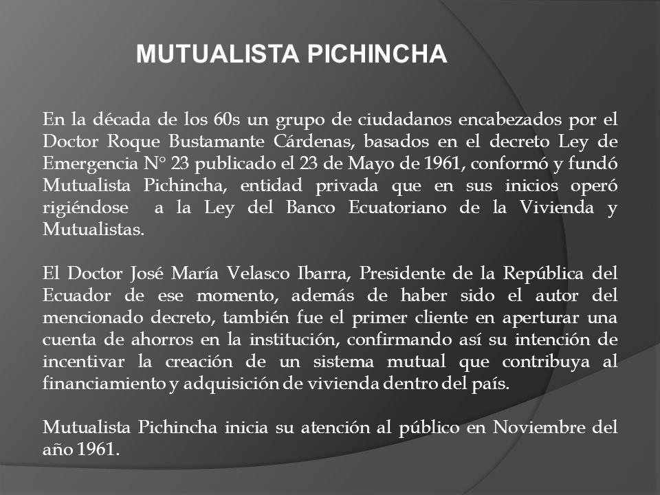 En la década de los 60s un grupo de ciudadanos encabezados por el Doctor Roque Bustamante Cárdenas, basados en el decreto Ley de Emergencia N° 23 publ