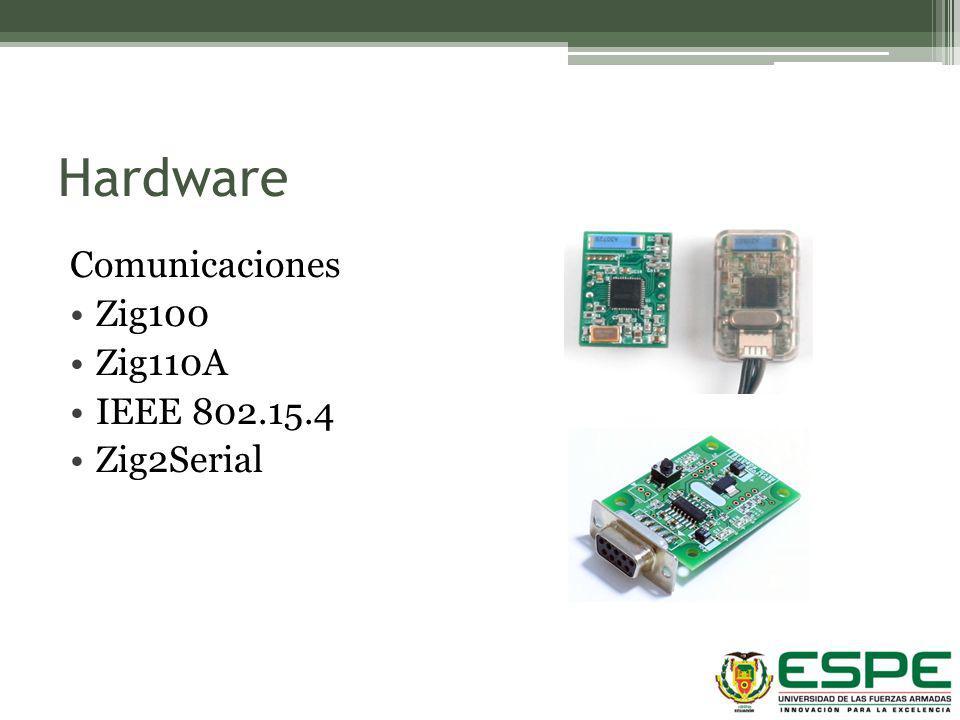 Hardware Comunicaciones Zig100 Zig110A IEEE 802.15.4 Zig2Serial