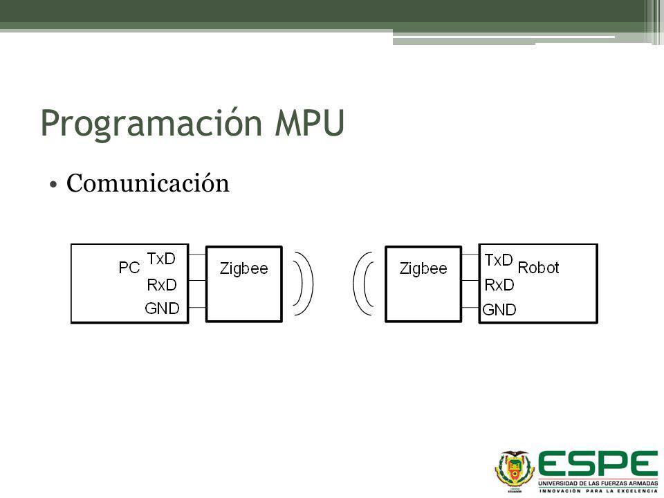 Programación MPU Comunicación