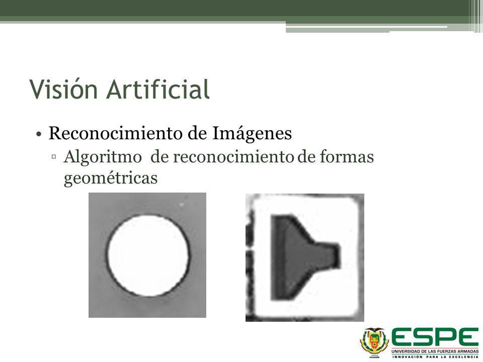 Visión Artificial Reconocimiento de Imágenes Algoritmo de reconocimiento de formas geométricas