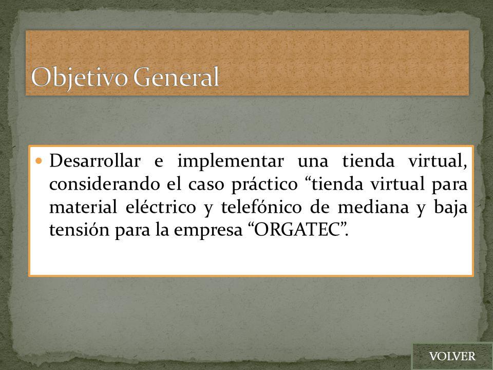 Se propone la implementación de un sistema web de tienda virtual basado en e-Commerce utilizando osCommerce.