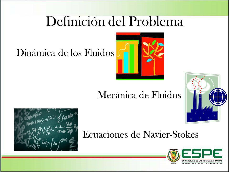 Dinámica de los Fluidos Mecánica de Fluidos Ecuaciones de Navier-Stokes Definición del Problema