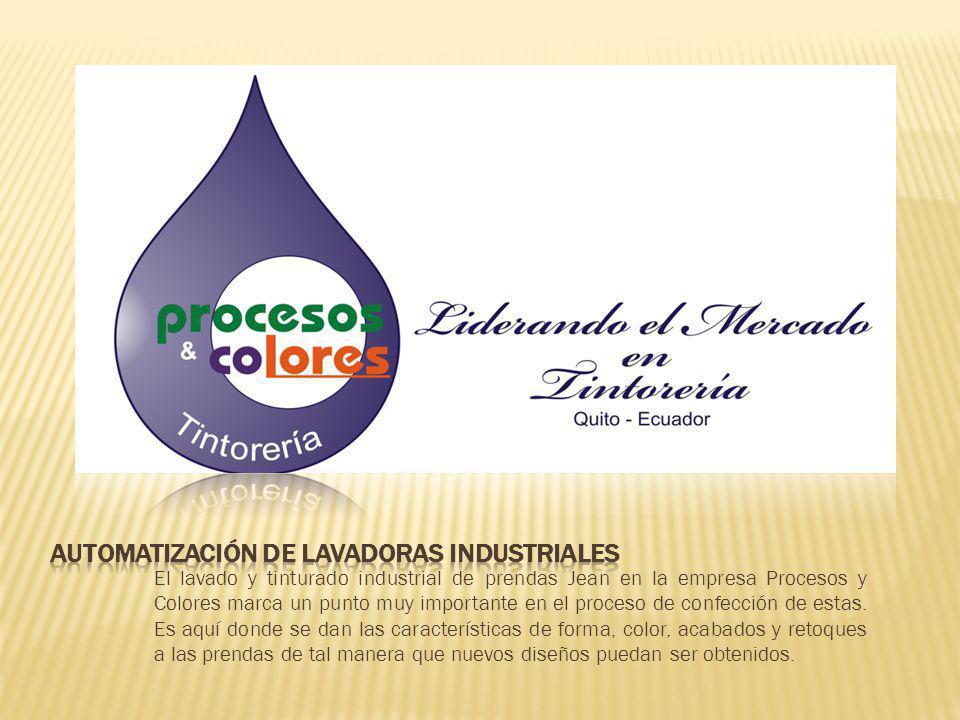 El lavado y tinturado industrial de prendas Jean en la empresa Procesos y Colores marca un punto muy importante en el proceso de confección de estas.