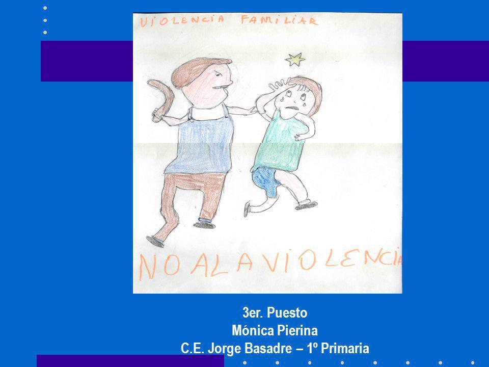 3er. Puesto Mónica Pierina C.E. Jorge Basadre – 1º Primaria