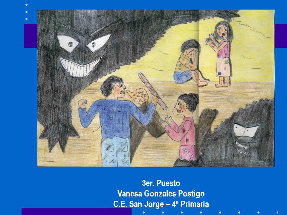 3er. Puesto Vanesa Gonzales Postigo C.E. San Jorge – 4º Primaria