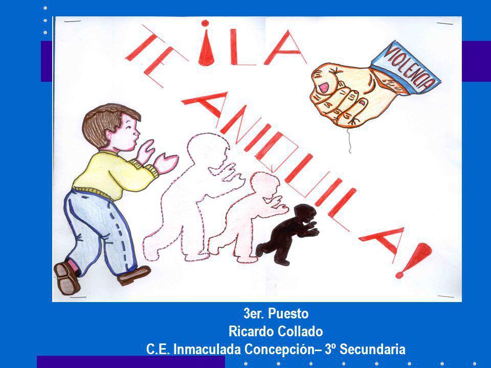 3er. Puesto Ricardo Collado C.E. Inmaculada Concepción– 3º Secundaria