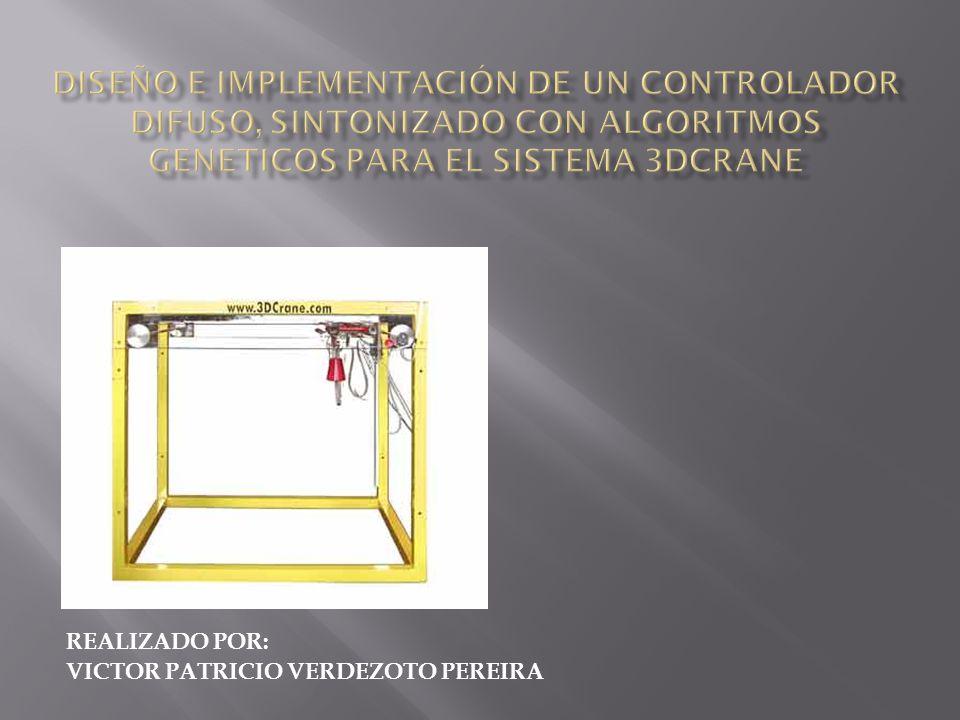 Diseñar e implementar controladores inteligentes para el sistema 3DCRANE.