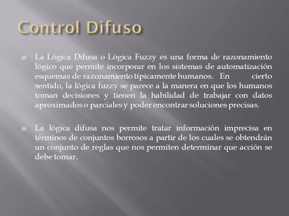 La Lógica Difusa o Lógica Fuzzy es una forma de razonamiento lógico que permite incorporar en los sistemas de automatización esquemas de razonamiento típicamente humanos.
