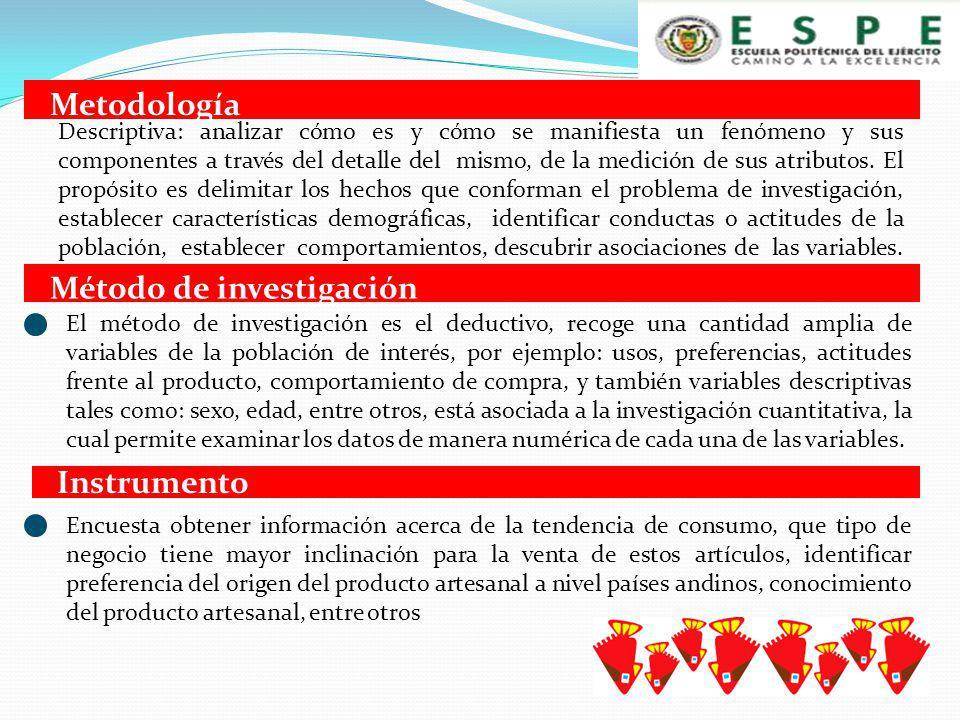 El producto artesanal ecuatoriano en Leuven-Bélgica, está ubicado entre los tres países dentro del territorio andino de donde provienen los artículos artesanales, Ecuador tiene (26,3%) debate el segundo lugar con Perú (23,7%).