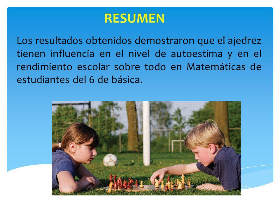 CONCLUSIONES Y RECOMENDACIONES 4) Las clases de ajedrez tendrán una frecuencia mínima de 1 clase semanal con una duración de 40 minutos como base, durante 5 meses como en nuestra experiencia o más.