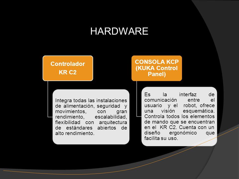 Controlador KR C2 Integra todas las instalaciones de alimentación, seguridad y movimientos, con gran rendimiento, escalabilidad, flexibilidad con arquitectura de estándares abiertos de alto rendimiento.