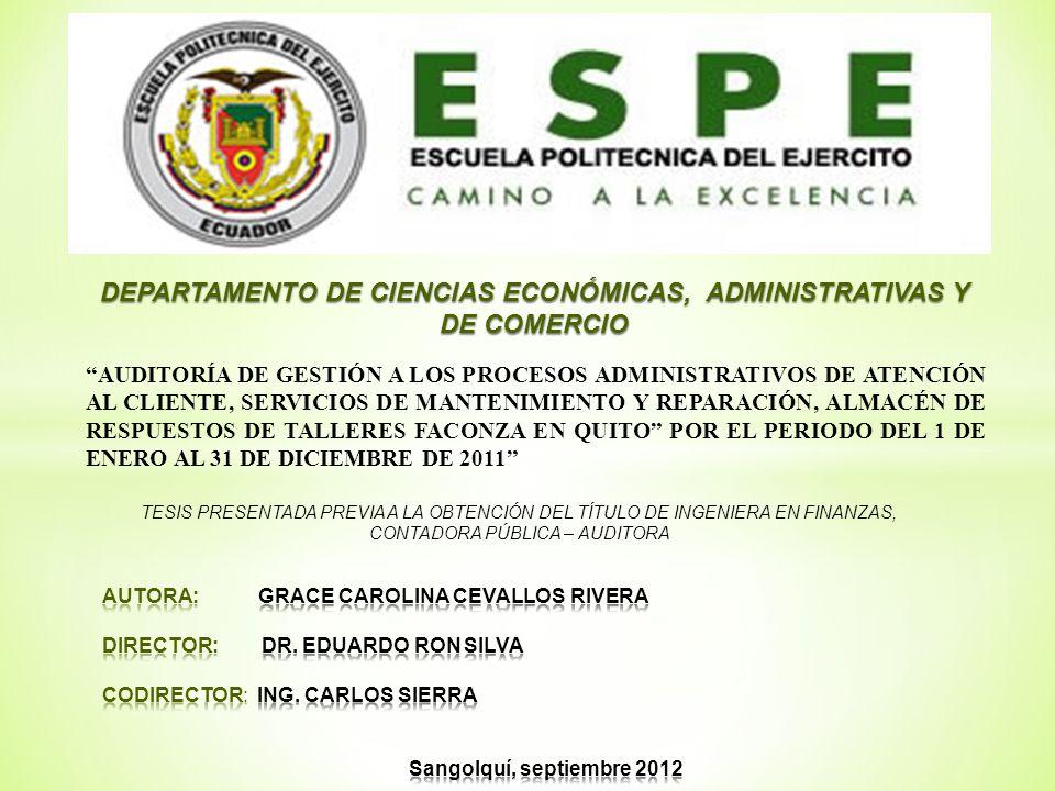 * CAPÍTULO I ASPECTOS GENERALES Base Legal Objetivos del Ente Auditado *Objetivo General *Objetivo Específico OrganigramasReseña HistóricaLa EmpresaEstructuralFuncionalPersonal