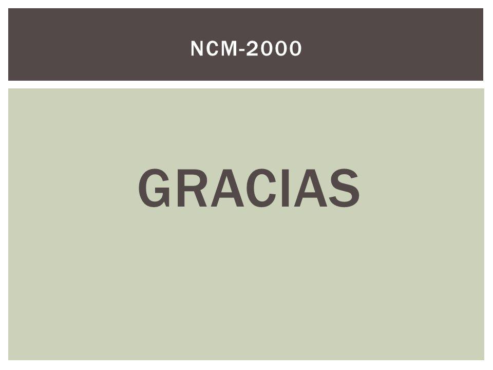 GRACIAS NCM-2000