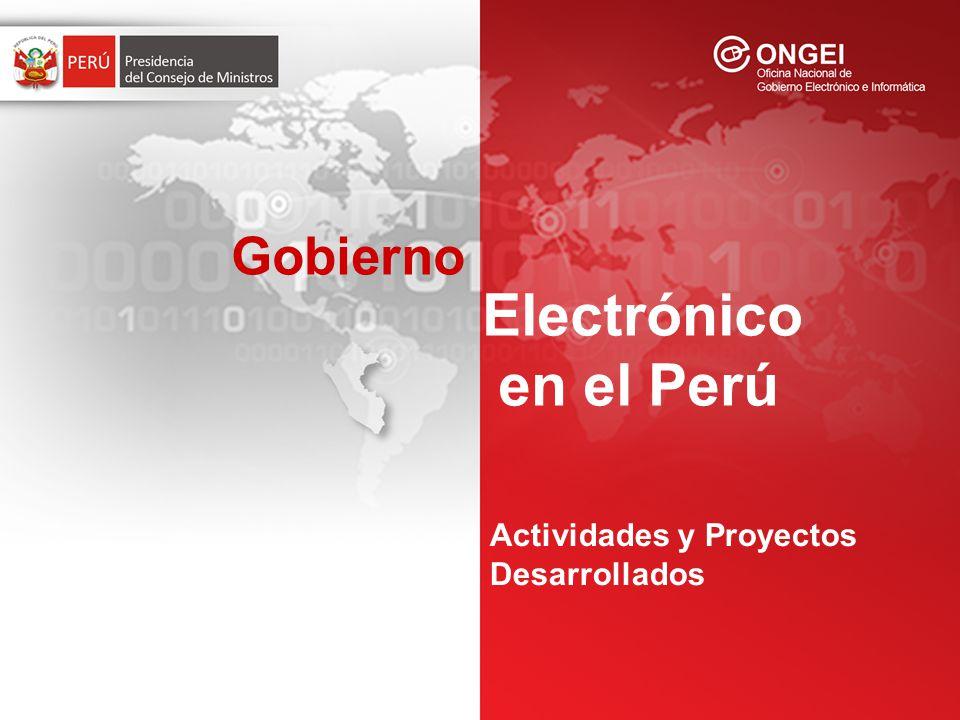 ¿Qué es La Agenda Digital Peruana .