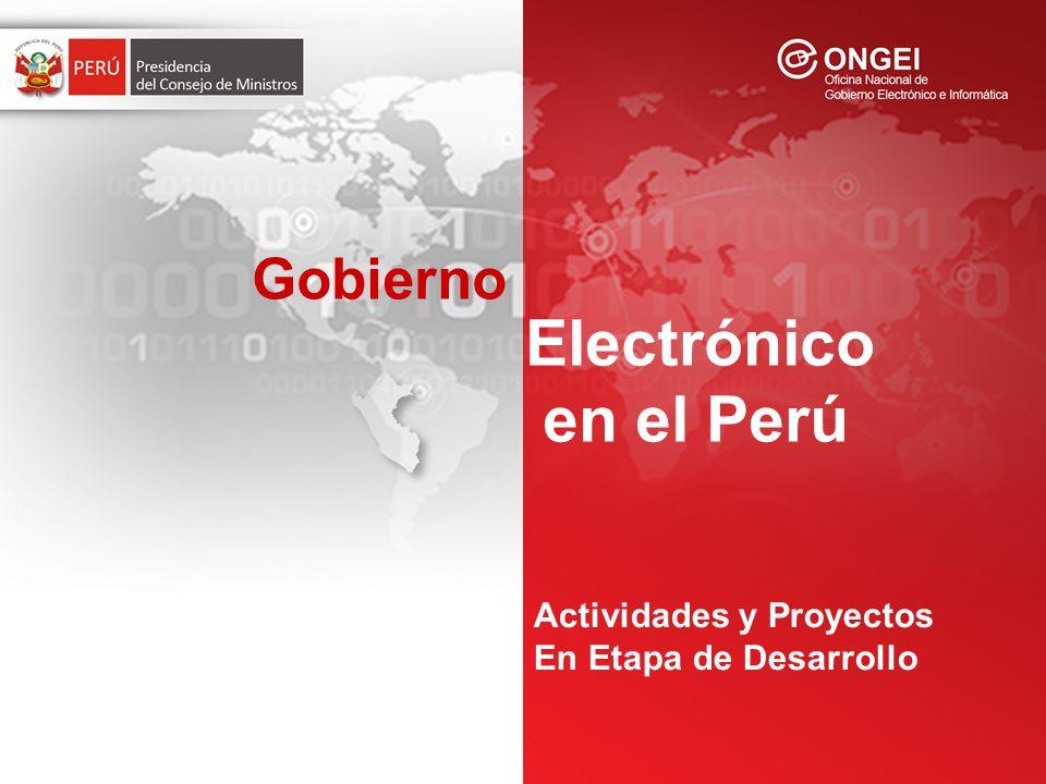 Implementación de la Autoridad Administrativa Competente de Firmas y Certificados Digitales, coordinado con INDECOPI Etapa de Evaluación de Propuestas para otorgar las Buena Pro