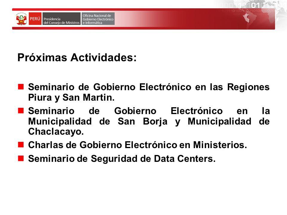 REDES SOCIALES Un Nuevo Reto para el Estado Peruano