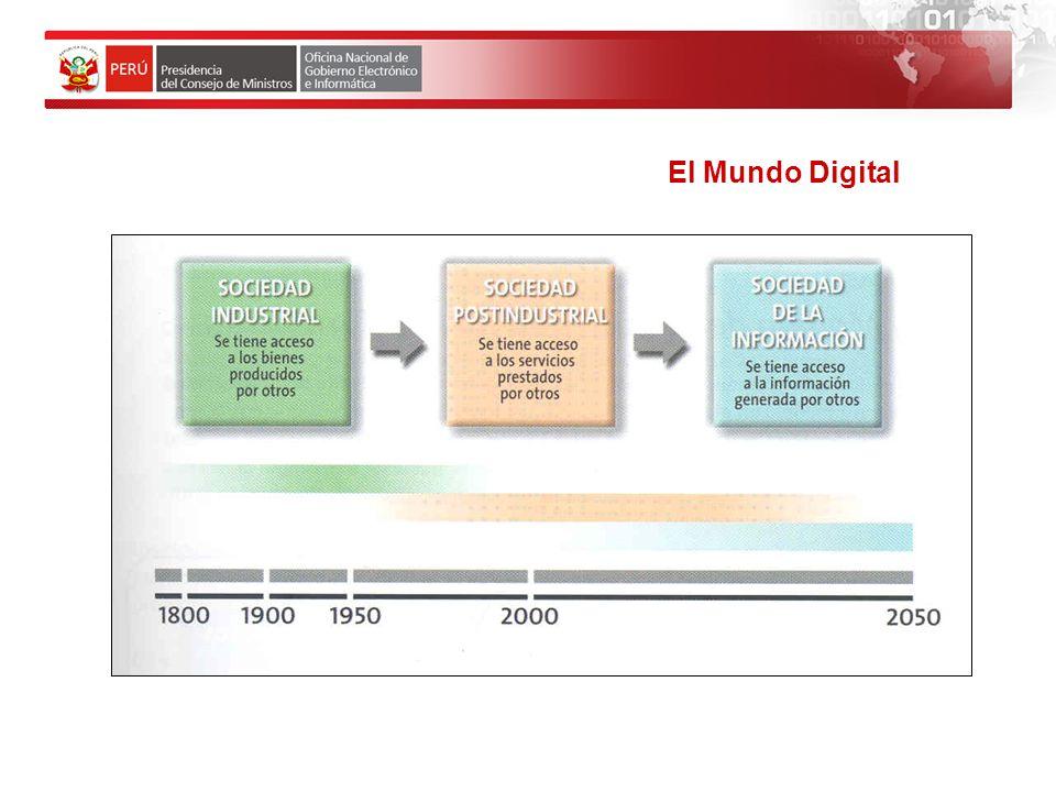Modelo de la Sociedad de la Información EL ESTADO PERUANO ES CONSCIENTE DE ESTE FENOMENO MUNDIAL