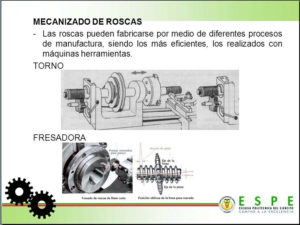 ROSCADORA Máquina eléctrica accionada por un motor, la misma que en el mandril sujeta al tubo y que haciéndolo girar lo rosca.