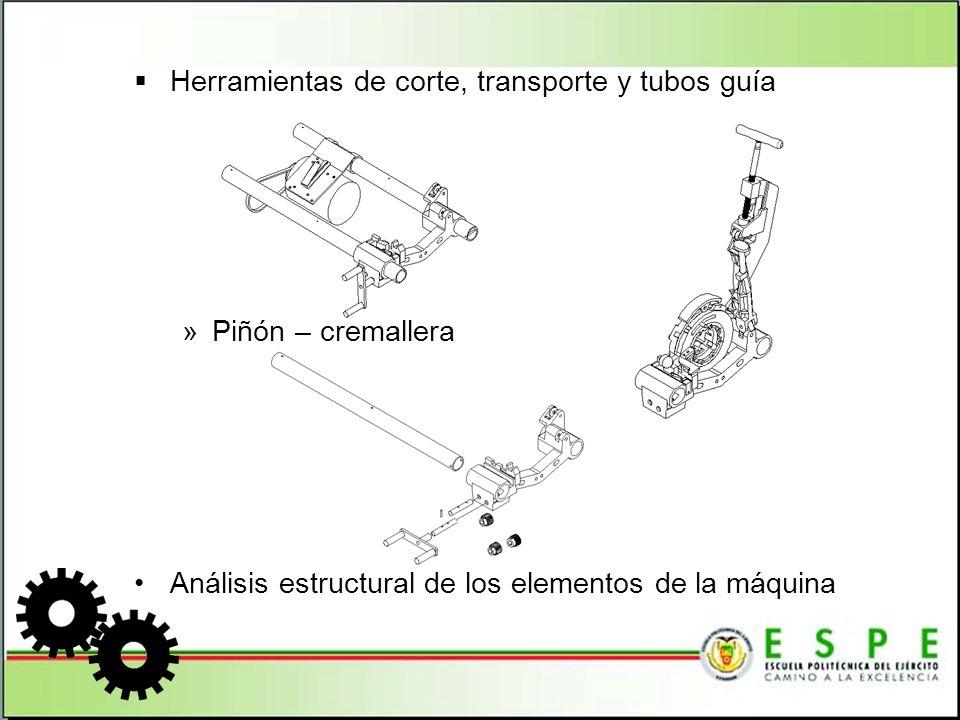 SELECCIÓN DE PARTES Motor de inducción, monofásico de 1,5 HP, 60 Hz, 110 V Bomba de cebado automático, tipo gerotor, con reversa automática, de flujo constante Interruptor tipo rotatorio FOR/OFF/REV (adelante/apagado/reversa) Mordazas delanteras (3 unidades) Mordazas posteriores (3 unidades) Dados para tubos de 3/8 a 1/2 NPT P/811A-711-815A Dados para tubos de 1 a 2 HS NPT P/811A-711-815A Dados para tubos de 2 ½ a 4 HS NPT P/811A-711-815A Disco de corte para la Cortadora N 764 Rodillos para la cortadora N 764 Cuchilla para la Escariadora N 744