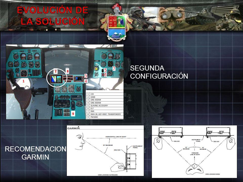 SEGUNDA CONFIGURACIÓN RECOMENDACION GARMIN