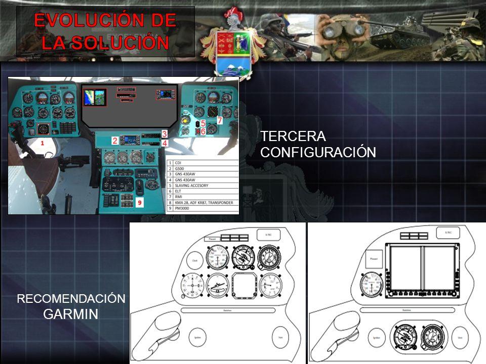 TERCERA CONFIGURACIÓN RECOMENDACIÓN GARMIN