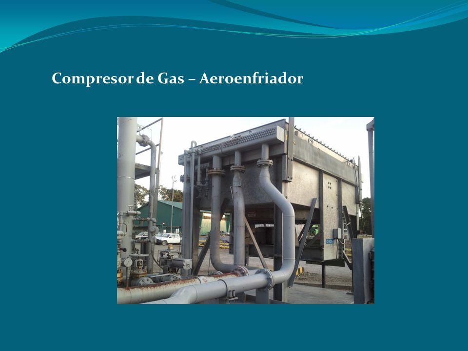 Compresor de Gas – Aeroenfriador