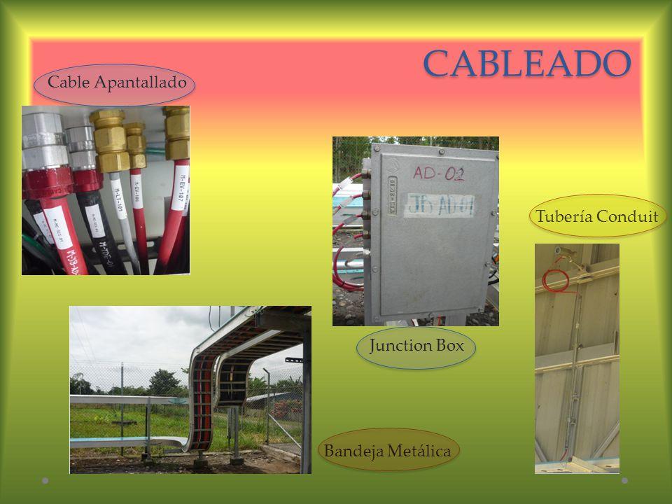 CABLEADO Cable Apantallado Bandeja Metálica Junction Box Tubería Conduit